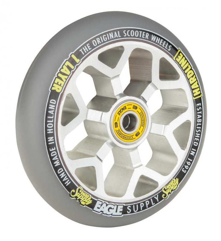 Eagle Supply Wheel 110mm H/Line 1/L Hollowcore Sewercaps Stunt Scooter Eagle Supply Co