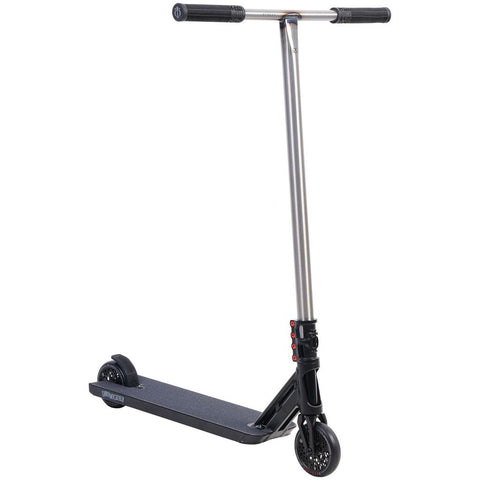 Triad Psychic Black Mail Complete Stunt Scooter, Satin Black/Black/Snake