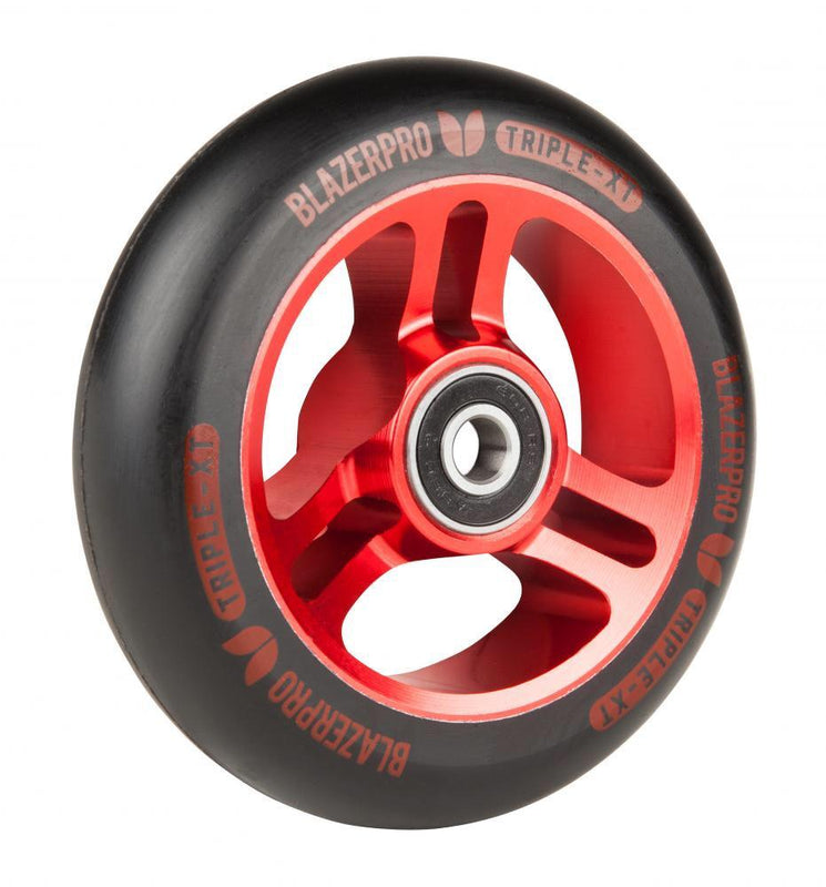 Blazer Pro Triple XT 100mm Scooter Wheel - Red Scooter Wheels Blazer Pro