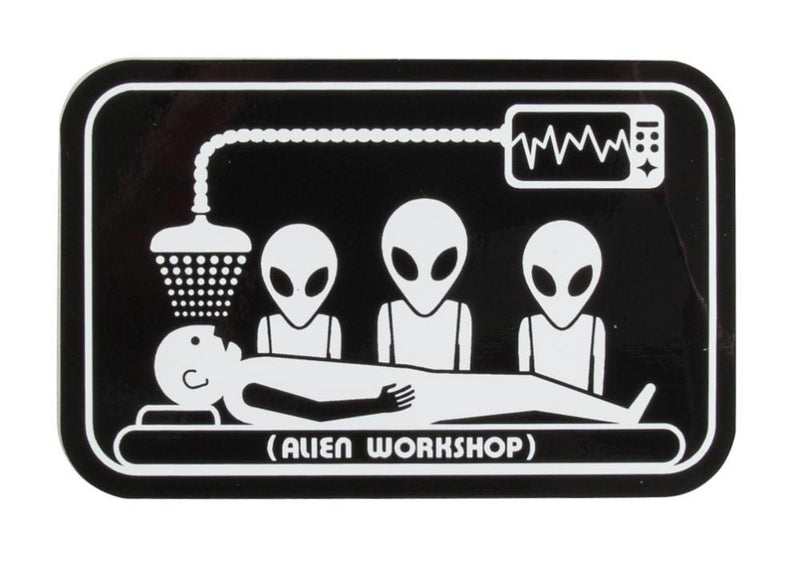 "Alien Workshop 3"" sticker - Abduction - Rampworx Shop"
