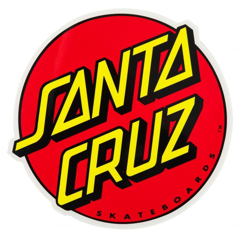"Santa Cruz 3"" sticker - classic dot Accessories Santa Cruz"