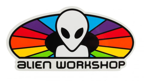 "Alien workshop 6"" sticker - spectrum"