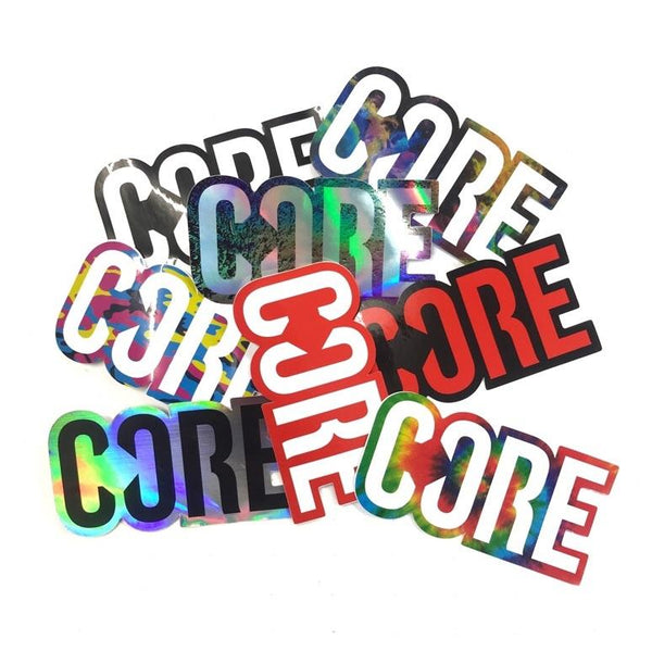 Core Sticker Pack (8 stickers)