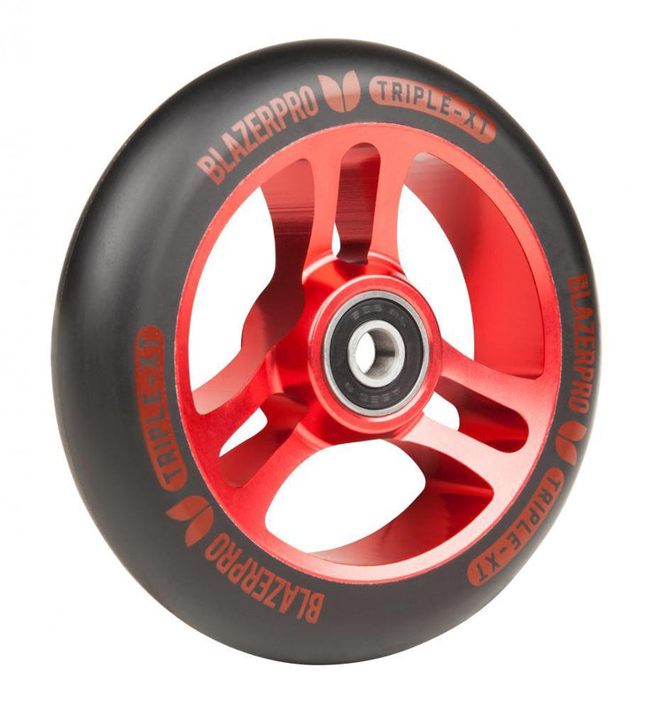 Blazer Pro Triple XT 110mm Scooter Wheel - Red