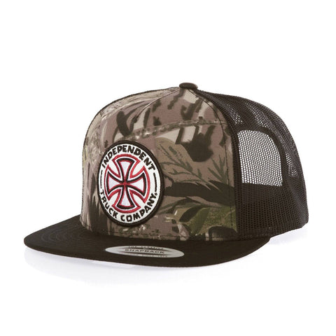 Independant SnapBack - Camo/Black