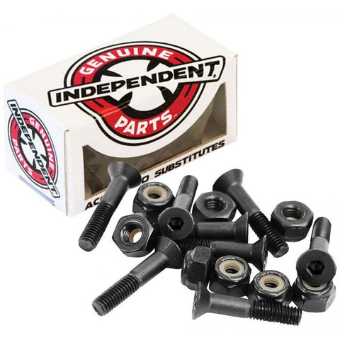 Independent Trucks Hardware Bolts All Sizes, Black