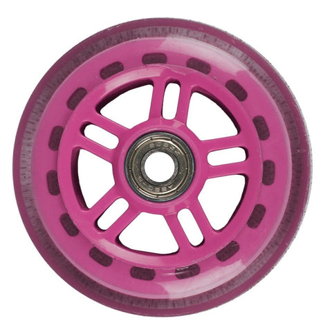 JD Bug scooter wheel Nylon Core 100mm - PINK