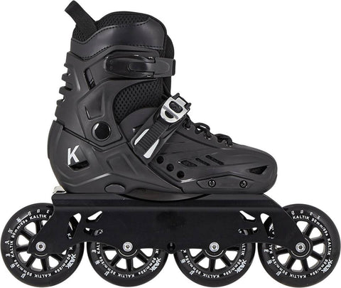 Kaltik Hardware K Skate Freestyle Kids Skates UK3-UK6, Black EX DISPLAY WITH BOX!