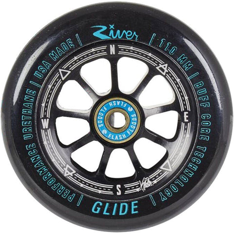 River Wheels Rapids Stunt Scooter Wheels 110mm, Kevin Austin