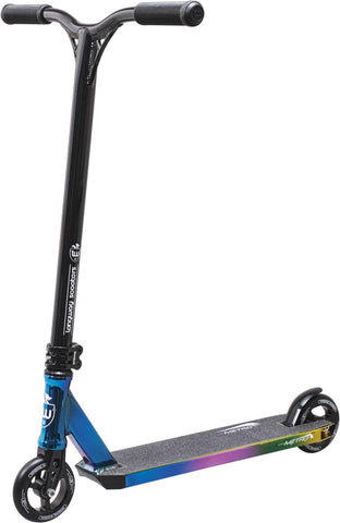 Longway Metro Complete Stunt Scooter - Black/NeoChrome
