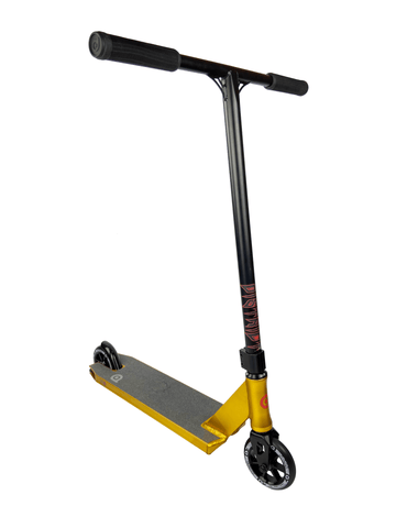 District Titan Complete Stunt Scooter - Ano Gold/Black