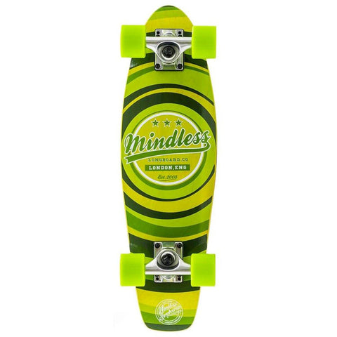 Mindless Longboard Stained Daily II Cruiser - Green