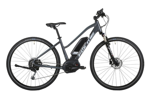 Forme Peak Electric Bike Trail  1ELS - Grey/Light Grey E-Bike