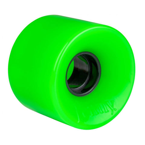Penny Skateboard / Cruiser Wheels 4 Pack - Solid Green 59mm