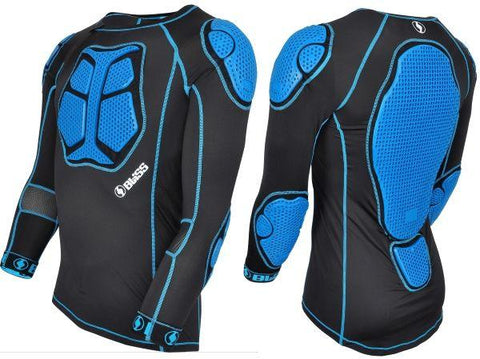 Bliss Comp LD Top Comp Body Armour, Black/Blue