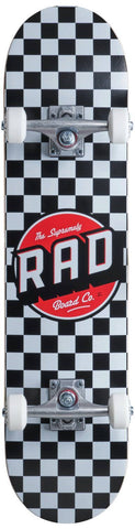 RAD Complete Skateboard Checkers