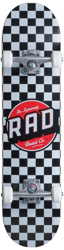 RAD Complete Skateboard Checkers Complete Skateboards RAD 7.5''