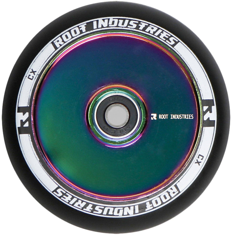 Root Industries Scooters Air Stunt Scooter Wheels 110mm , Black/Neochrome Scooter Wheels Root Industries