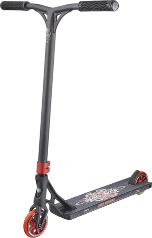 AO scooter Dylan Morrison Complete Signature Stunt Scooter - Black/Red