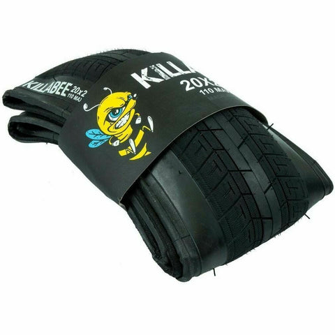 Total BMX Killabee Folding Tyre Kyle Baldock signature