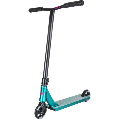 NKD Sports Rally V4 Complete Stunt Scooter, Teal/Black