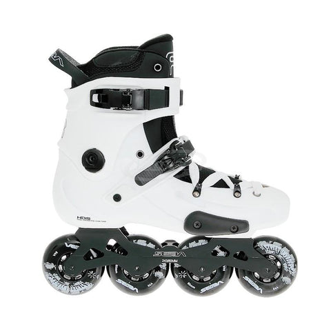 SEBA Skates FR1 80 Inline Skates UK5, White EX DISPLAY WITH BOX