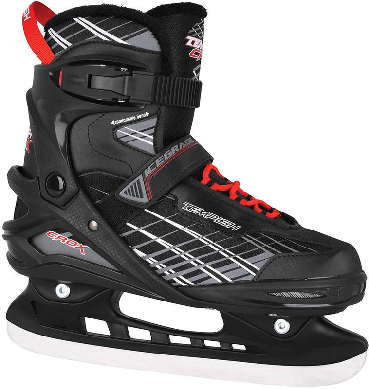 Tempish Crox Hockey Skates - Black (ALL SIZES) Ice Skates tempish