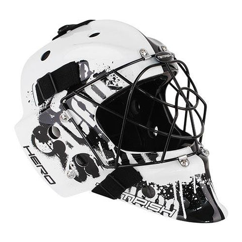 Tempish Hero Goalie Mask - Black/White
