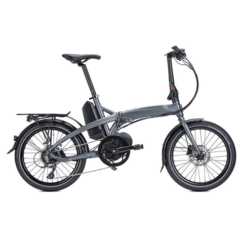 Tern E-Bike Vektron D8 Folding Electric Bike - Gunmetal