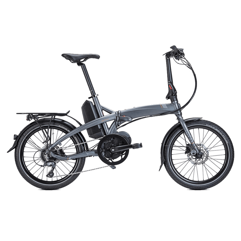 Tern E-Bike Vektron D8 Folding Electric Bike - Gunmetal Electric Bike Tern