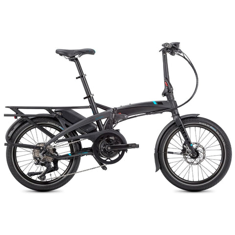 Tern E-Bike Vektron S10 Folding Electric Bike - Black