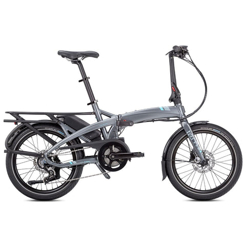 Tern E-Bike Vektron P7i Folding Electric Bike - Gunmetal Grey