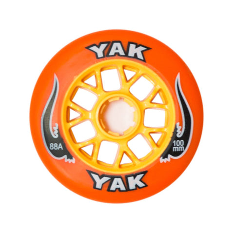 YAK Toro Scooter wheel - 100mm/88a - Orange/yellow