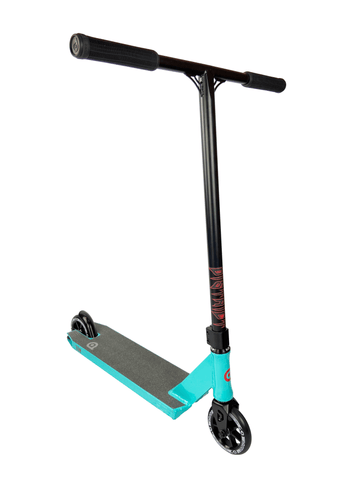 District Titan Complete Stunt Scooter - Powder Blue / Black