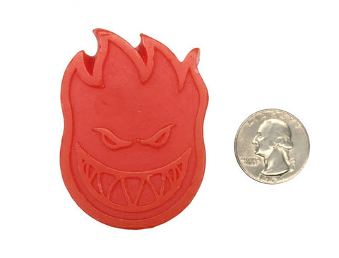 Spitfire Wheels Embers Mini Wax +Sticker - Red