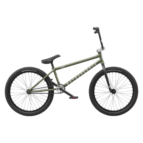 "Wethepeople Audio BMX Bike Matte Olive 22"" (21.9"" TT)"