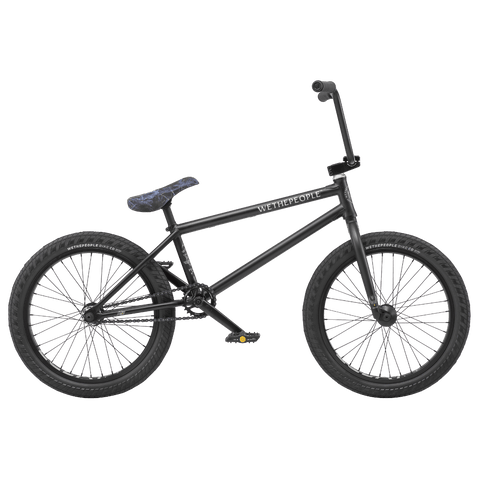 "Wethepeople Crysis BMX Bike Matte Black 20"" (20.5"" TT)"