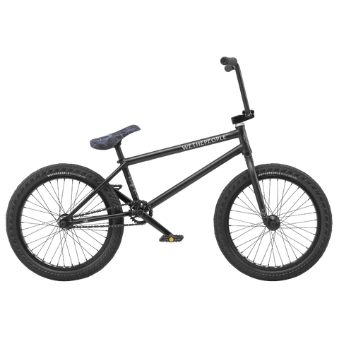 "Wethepeople Crysis BMX Bike Matte Black 20"" (21"" TT)"