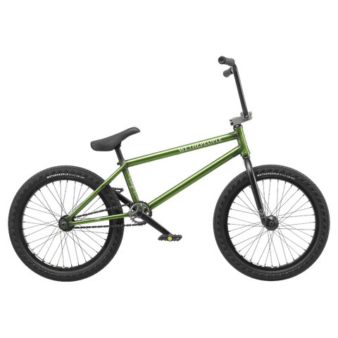 "Wethepeople Crysis BMX Bike Translucent Olive 20"" (21"" TT)"