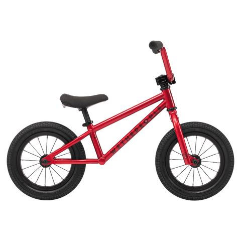 Wethepeople Prime BMX Balance Bike Metallic Red 12""