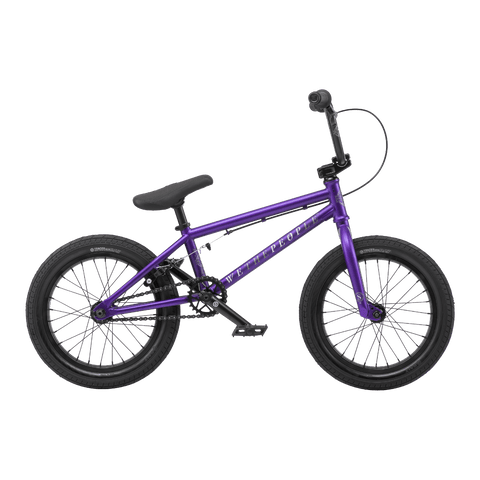 "Wethepeople Seed BMX Bike Matt Purple 16"" (16"" TT)"
