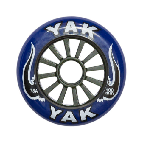 Yak Classic Stunt Scooter wheel 100MM - Blue/Black