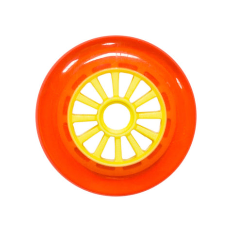 Yak Scooters Low Profile Spoked 110 MM scooter wheel Orange/Yellow