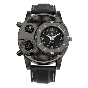 Fashion Men's Thin Silica Gel Students Sports Quartz Watch-Price Mart USA