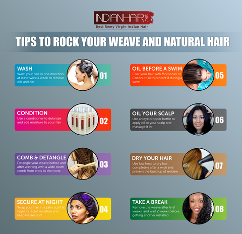 A Guide to Maintaining Your Weave