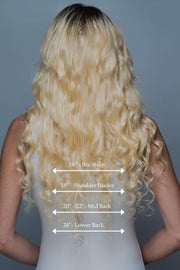 Blonde Clip In Human Hair Extensions