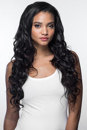 Natural Wavy Hair Weave Black