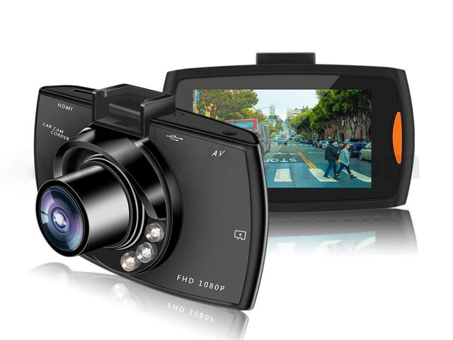 HD DashCam + 16GB Micro SD Card