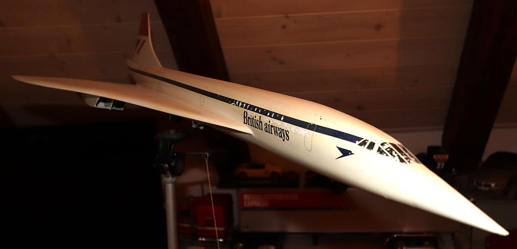 Modellflugzeug British Airways Concorde von Skyland