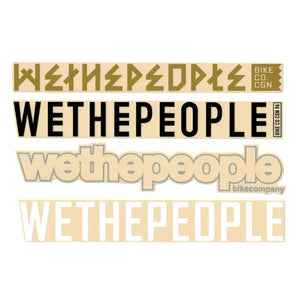 Wethepeople Stickerpack